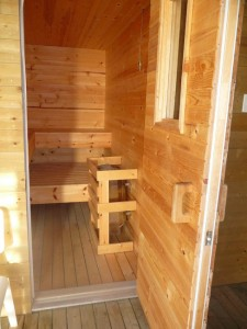 35aBox poolhouse sauna